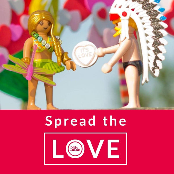 Spread the love Disco Beads