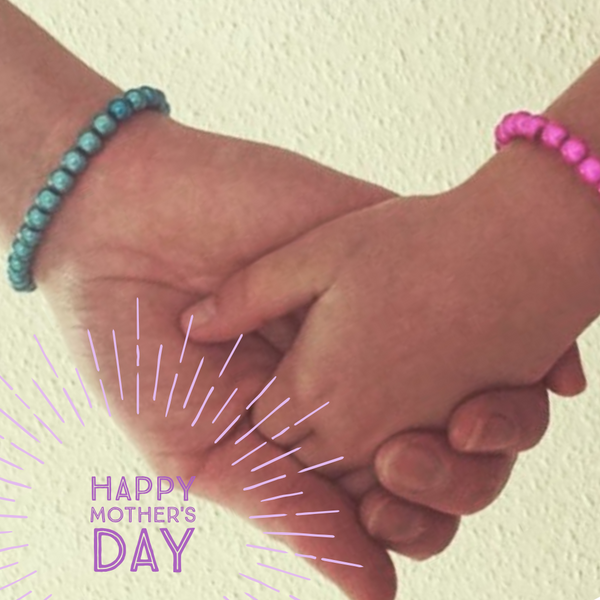 Mother's Day you and me Bracelets Disco Beads