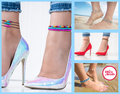 Disco Beads Anklets