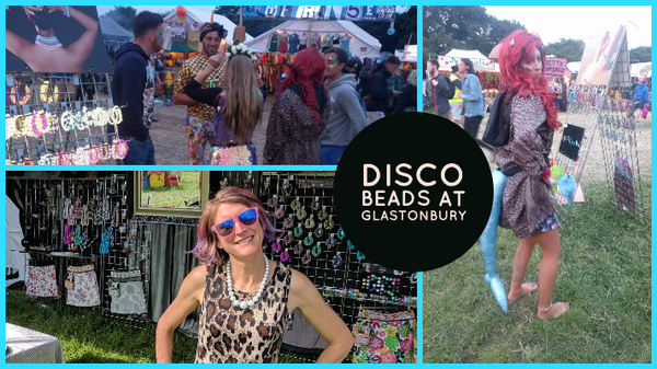Disco Beads at Glastonbury