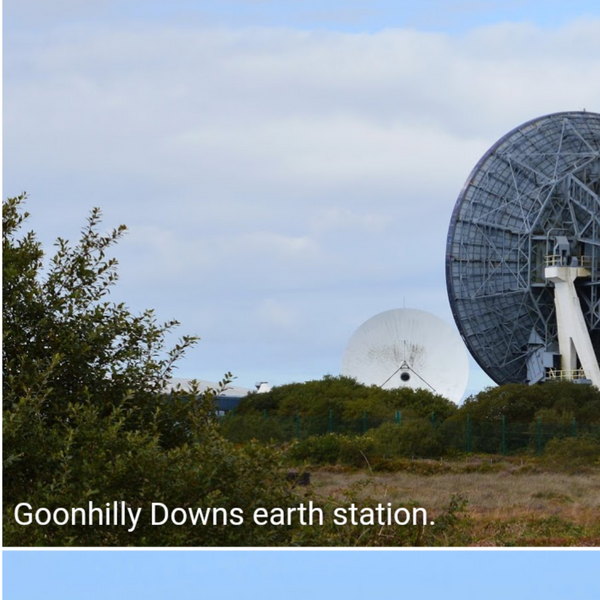 Goonhilly Earth station Cornwall