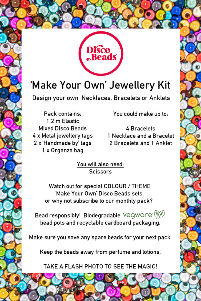 Make your own Jewellery kit contents