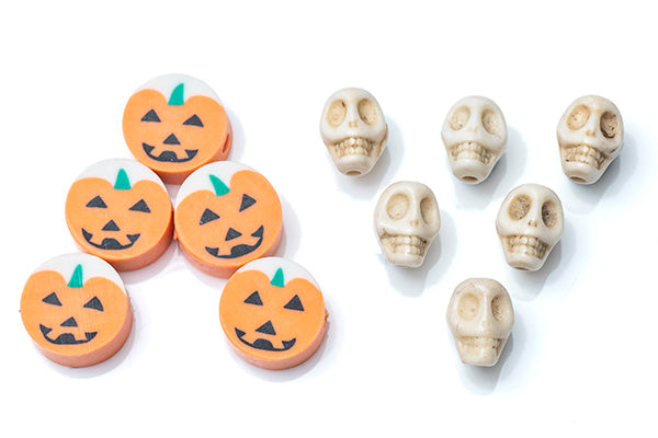 Halloween Charms included within the kit