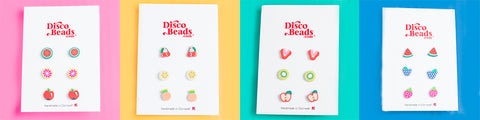 Fruit Studs from Disco Beads