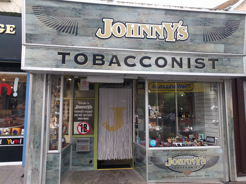 Johnny's Tobacconist Bead Curtain Newquay