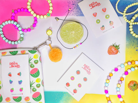 Get Fruity with Disco Beads!