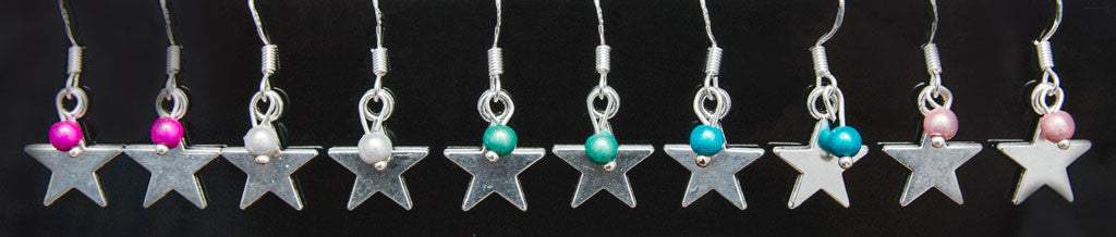 Star Earrings - Beautiful Jewellery out of this world