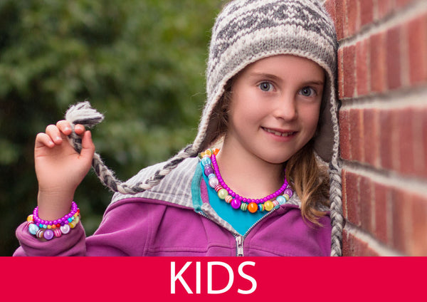 Children Love the Magic of Disco Beads - Funky, Reflective Jewellery