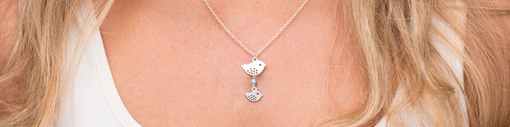 Little Wren Bird Necklace - Great Deal