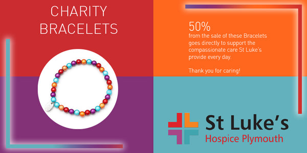 St Luke's Hospice - 50% of all proceeds go to support their fantastic work