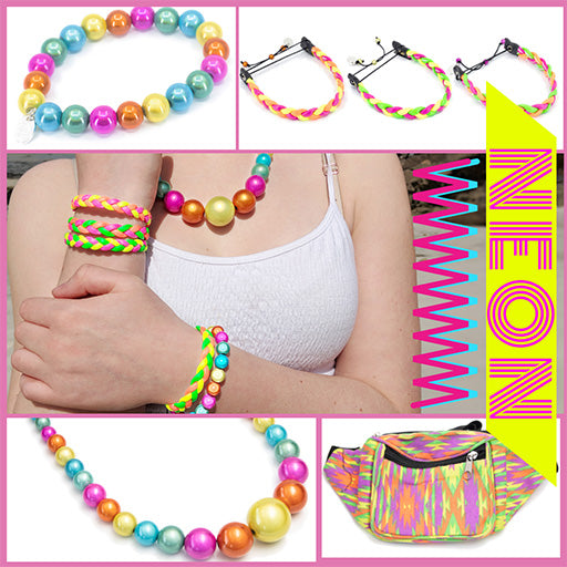 neon Collection disco beads