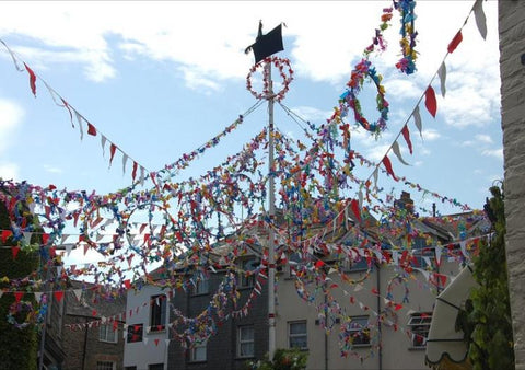 May pole Padstow