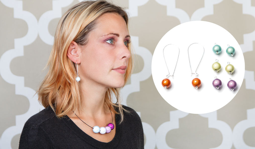 Quatro Earrings - 4 different colours for the price of 1!