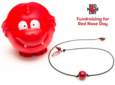 Red Nose Day Bracelet by Disco Beads!
