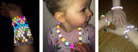 Glowing Jewellery for all ages and styles