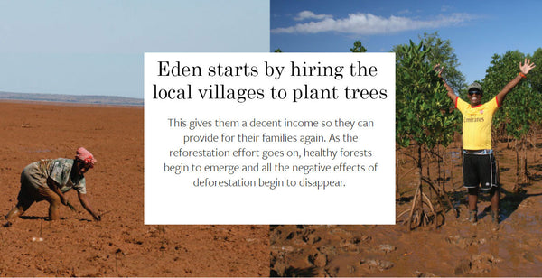 Hiring local villagers