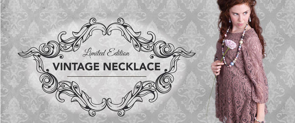 Vintage Necklace - Vintage Jewellery - Limited Edition