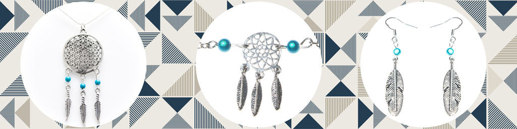 Dream Catcher Jewellery - Glowing Disco Bead Jewellery