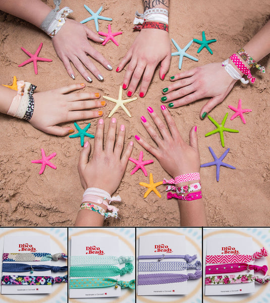 Bobble bracelets - stretchy hair bands