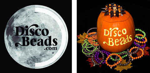 Halloween logo's Disco Beads