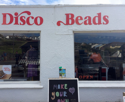Book Fairy strikes at Disco Beads Mawgan Porth!