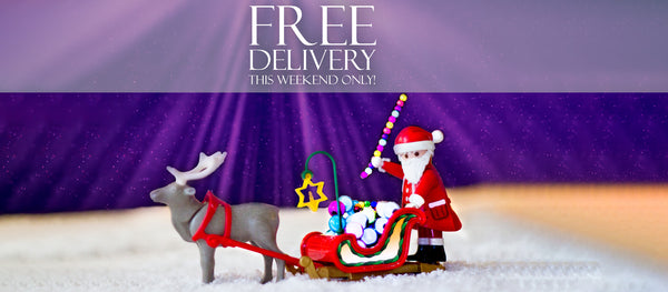 Free Delivery - Black Friday weekend only!