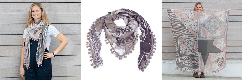 Star Scarf - Beautifully out of this world jewellery