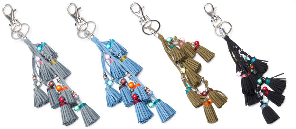 Tassle Bag Charms - Perfect for any bag!