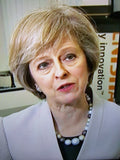 Theresa May Jewellery - Wearing Disco Beads!