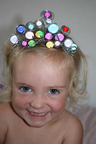 Disco Beads Princess Tiara
