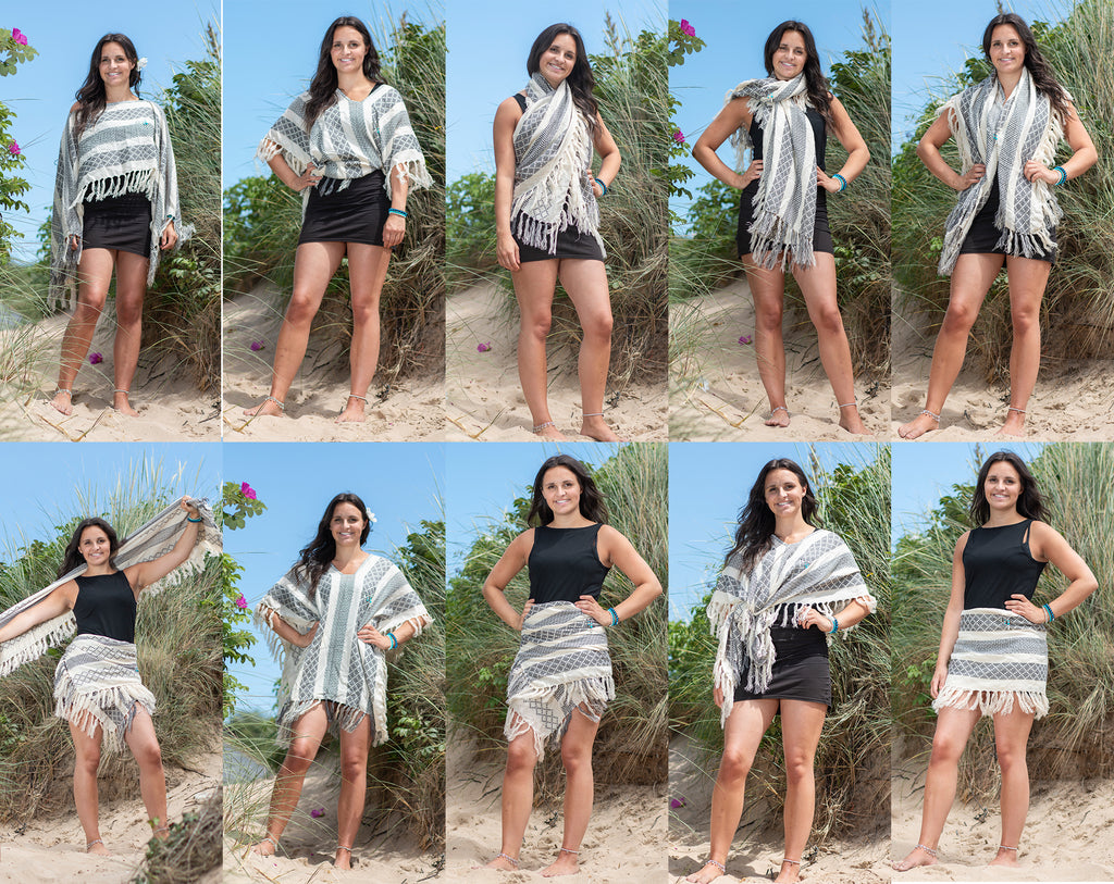 Poncho - Load of ways to wear!