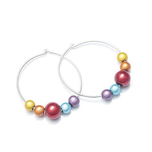 Sunrise - Hoop Earrings