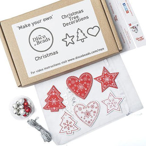 Christmas Tree Decorations  'Make Your Own' Kit