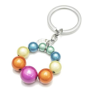 Keyring Charm - Accessories- Disco Beads