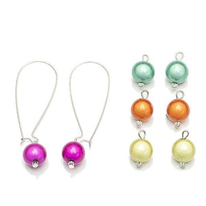 Quatro Earrings - Earrings- Disco Beads