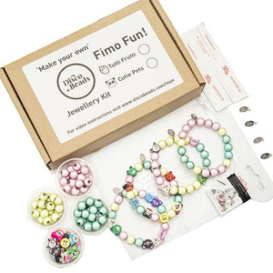 Fimo Fun!  'Make Your Own' Kit - Accessory- Disco Beads