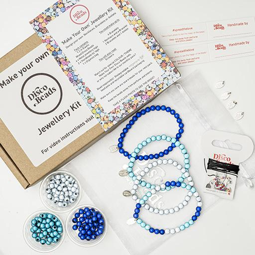 Blues 'Make Your Own' Kit - Accessories- Disco Beads