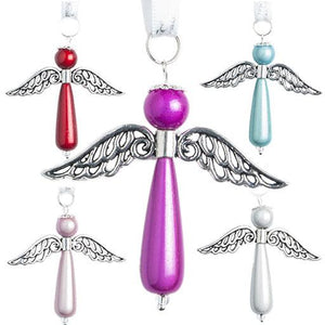 Teardrop Angel - Christmas- Disco Beads