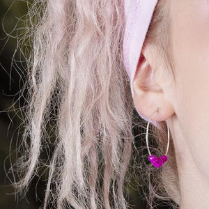 Earrings - Hoop Earrings - 30mm