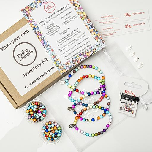 Multi 'Make Your Own' Kit - Accessories- Disco Beads
