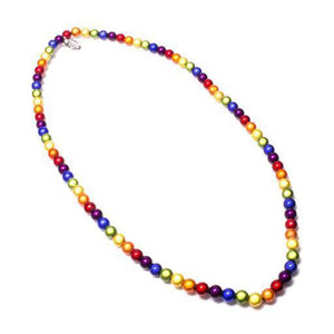 Super Fine Necklace - Necklace- Disco Beads