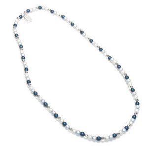 Ultra Fine Necklace - Necklace- Disco Beads