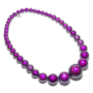Red Hatters - Purple - SPECIAL- Disco Beads