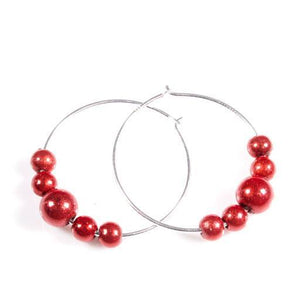 Red Hatters - Red - SPECIAL- Disco Beads