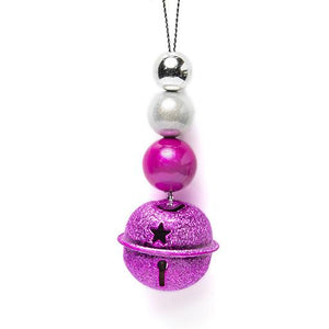 Glitter Bell - Special- Disco Beads