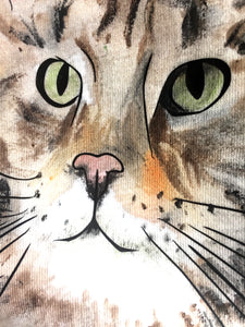 Hand painted pet portraits: how we do it?
