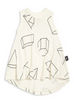 Nununu geometric print tank top kids