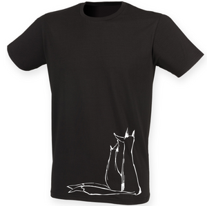 2 Foxes men t-shirt