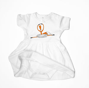 Baby Dress - Ballerina Fox Baby Dress