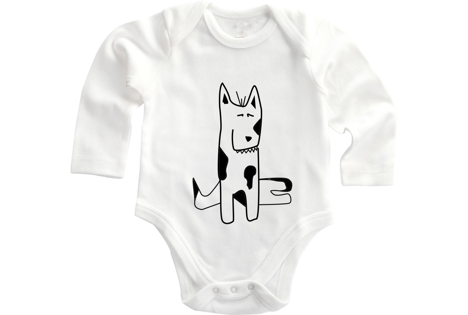Dog baby onesie - ARTsy clothing - 1